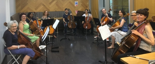 City Lit cello students 2018